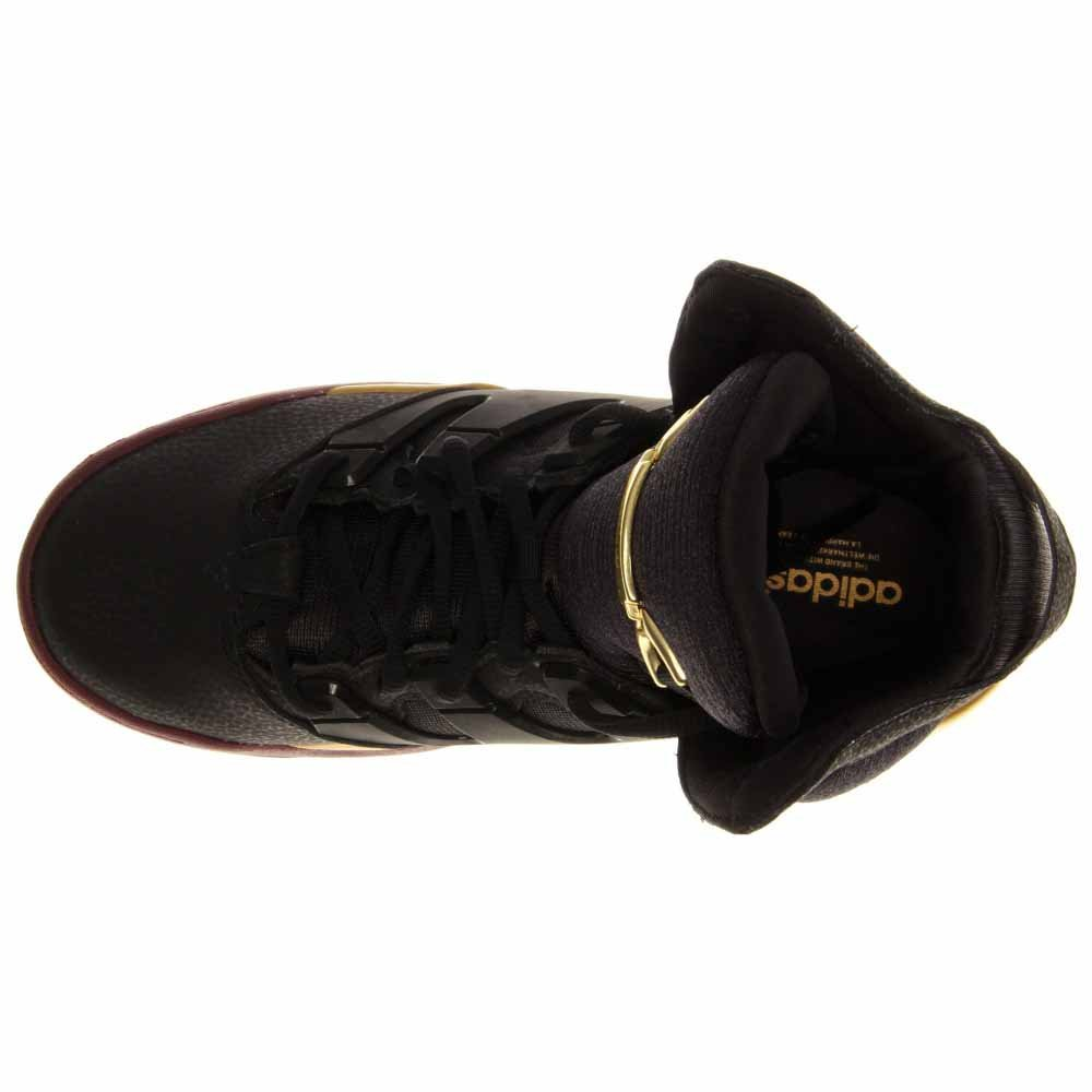 6fabab4c2e3 Adidas Originals Good Luck Charm Glc Q32923 Black metallic Gold Shoes (size  10)  Amazon.co.uk  Shoes   Bags
