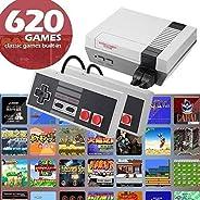 Eadear Plug & Play Classic Game Handheld Console,Classic Game Console Built-in 620 Game Video Game Console,Handheld Game Pla