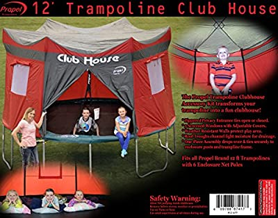 Propel Trampolines P12-6TT Trampoline Club House Cover, 12-Feet