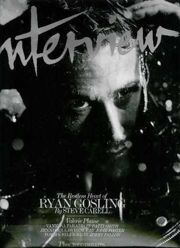 Interview Magazine (November, 2010) Ryan Gosling Cover