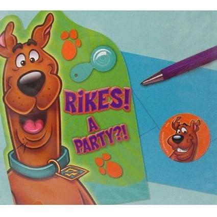 Amazoncom ScoobyDoo Where Are You Invitations w Envelopes