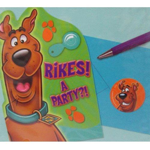 Scooby-Doo Where Are You! Invitations w/ Envelopes (Scooby Doo Party Invitations)