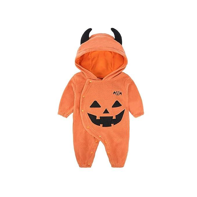 Deylaying Mono Pijama con Capucha de Recién Nacido - Baby Halloween ...