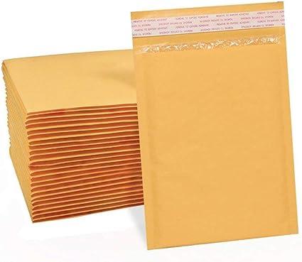 confezione da 25 pezzi 10,2 x 20,3 cm Switory Buste imbottite per CD
