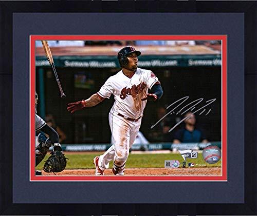 - Framed Jose Ramirez Cleveland Indians Autographed 8