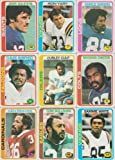 1978 Topps Football Stars 16 Card Lot Curley Culp #21,23,27,29,30,31,59,62,64,67,69,73,230,344,430,432