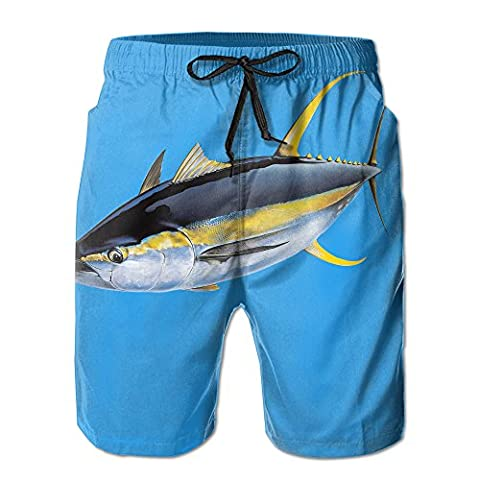 Wahoo Fish Albacore Popular Man Shorts 8.82oz Quick Dry - Wahoo Shorts