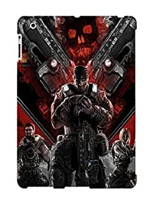 Exultantor Protection Case For Ipad 2/3/4 / Case Cover For Christmas Day Gift(gears Of War 3 )
