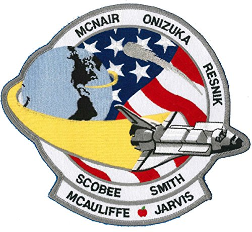 Jacket Back Patch 8-inch - Space Shuttle Challenger Mission STS-51L - NASA