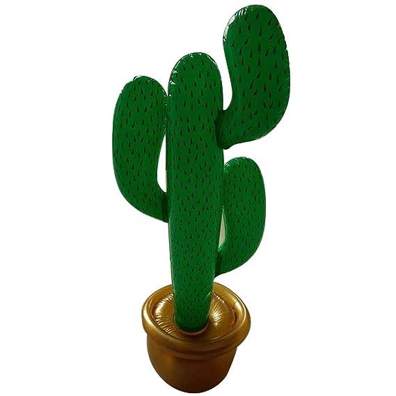 BESTOYARD Due-Home Hinchable Cactus Fondos, decoración para ...