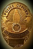 """LAPD Police Officer Badge Pin 1"""""""