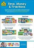 School Zone - Time, Money & Fractions Workbook - 64