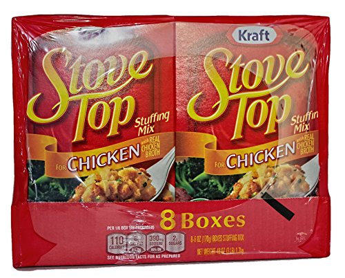 Kraft Chicken Stove Top Stuffing Mix (6 oz. Box, 8 ct.)