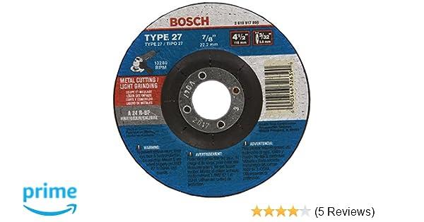 "Bosch Metal Cut 3.9/"" x 2 disc"
