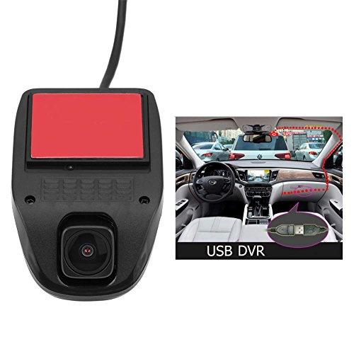 Acouto 1080P HD USB Camera Car DVR Video Driving Recorder with Night Vision for Android System by Acouto (Image #4)