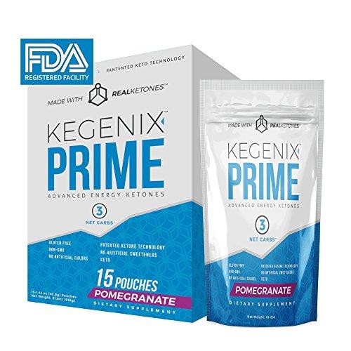 Kegenix PRIME Patented Energetic Pomegranate product image