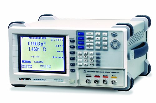 GW Instek LCR-8105G Precision LCR Meter with RS-232/GPIB Interface, 5 MHz Test Frequency