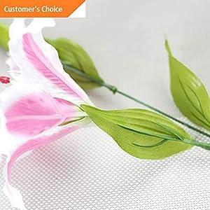 Hebel 10 Stems Artificial Floral Silk Fake Flower Bouquet Home Decor Wedding Decor 1 | Model ARTFCL - 380 | 50