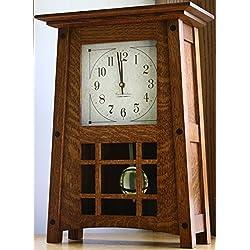 Presto Amish Handcrafted McCoy Mantel Clock