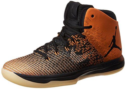 Jordan Nike Men's Air XXXI Basketball Shoe (10 D(M) US, Black/Black/Starfish)