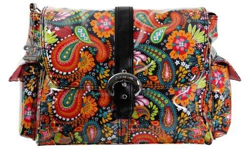 Kalencom Laminated Buckle Changing Bag (Mango Paisley) by Kalencom