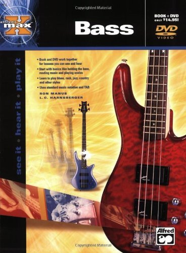 DVD : HARNSBERGER, L.C. - Alfred's Max Bass (With Book)