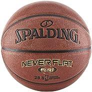 Spalding Never Flat Indoor/Outdoor Composite Basketball