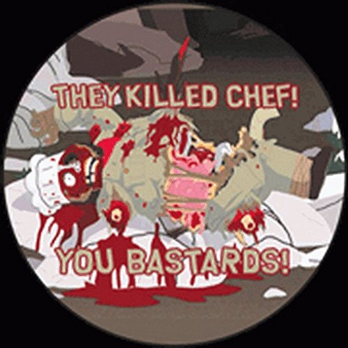 South Park They Killed Chef Button SB3117