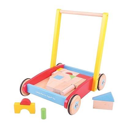 Bigjigs Toys Girello Per Bambino Amazon It Prima Infanzia