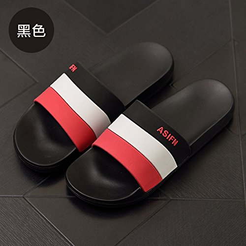 nbsp;Pantofole piscina Fankou trend anti di esterna spiaggia personalità nero cool uomini slittamento 41 estate maschio 42 pantofole coppie dq0qUcW