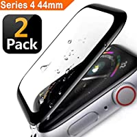 Apple Watch Screen Protector 44mm, [2 - Pack] Tempered...