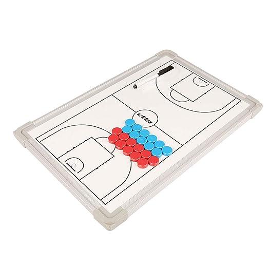 F-Feng Tablero de táctica de Baloncesto,portapapeles magnético ...