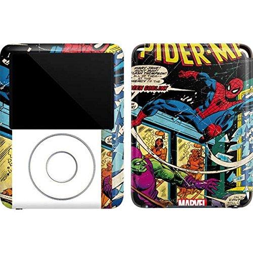 Marvel Comics iPod Nano (3rd Gen) 4GB&8GB Skin - Marvel Comics Spiderman Vinyl Decal Skin For Your iPod Nano (3rd Gen) 4GB&8GB ()
