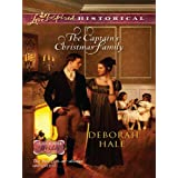 The Captain's Christmas Family: A Clean & Wholesome Regency Romance (Glass Slipper Brides Book 1)