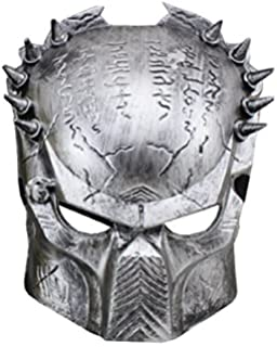 Inception Pro Infinite Máscara - Carnaval - Halloween - Alien Vs Predator - Color Plata -