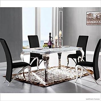 Table De Salle A Manger Design Luxe Venus 220 X 100 X 76 Cm Table