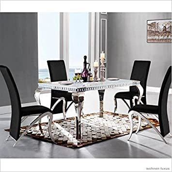 Table De Salle A Manger Design Luxe Venus 220 X 100 X 76 Cm Table En