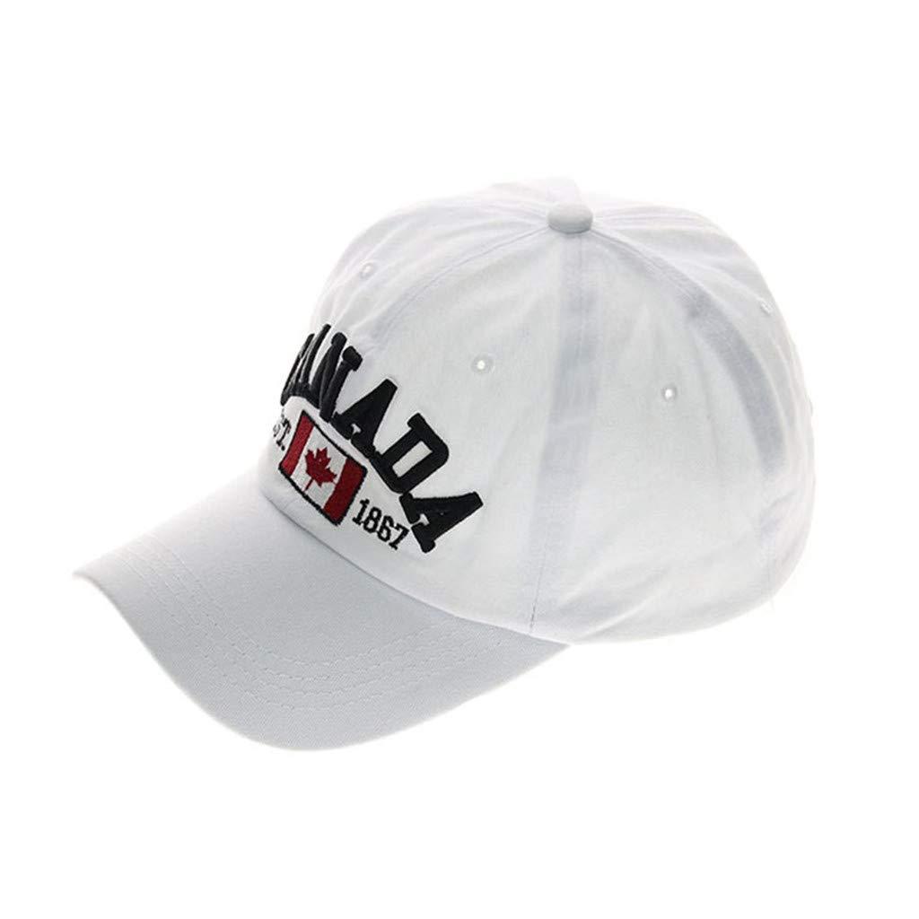 LMMET Baseball Cappello,Berretti Estivi Uomo Classic,Cappellino Donna Con Visiera,Berretti Estivi Uomo,Cappelli Cotone Unisex Adulto,Berretto da baseball ricamato di alta qualit/à Canada regolabile