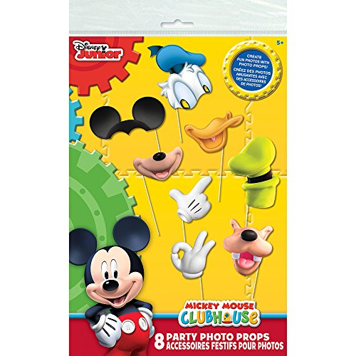 Mickey Mouse Clubhouse Photo Booth Props, (Mickey Mouse Halloween Birthday Party)