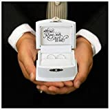 Wedding Ring Bearer Box Ring Pillow Alternative Boy Ceremony Aisle Unique Gift