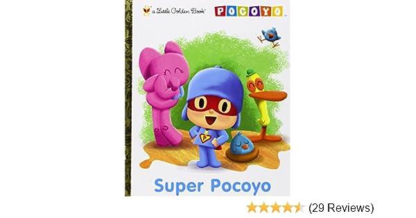 Super Pocoyo Pocoyo Little Golden Book Kristen L