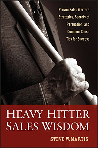 Heavy Hitter Sales Wisdom: Proven Sales Warfare Strategies, Secrets of Persuasion, and Common-Sense Tips for Success