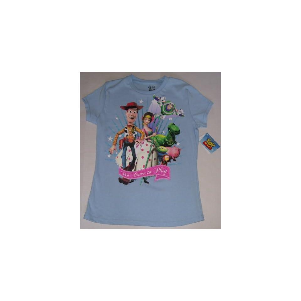 Disney Toy Story Woody Girls T Shirt Youth L 12 14