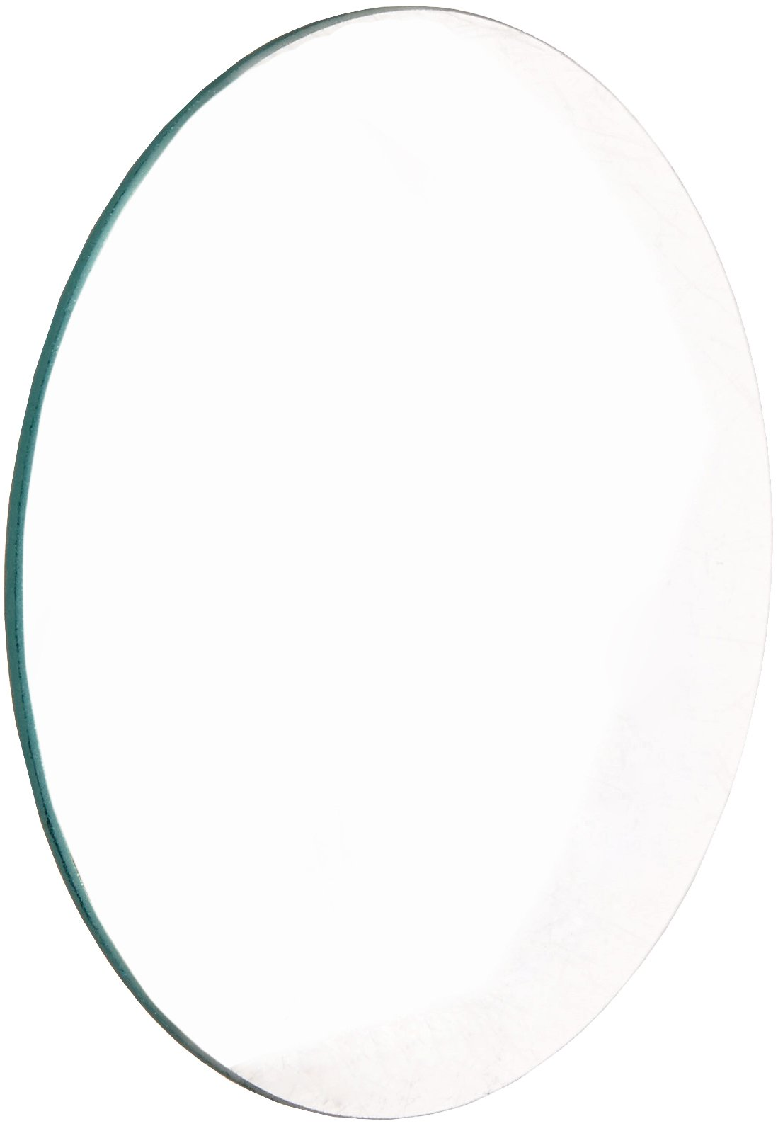 United Scientific LCV108 Glass Double Convex Lens, 100mm Diameter, 200mm Focal Length by United Scientific Supplies
