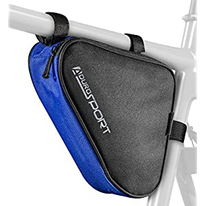 Aduro Sport Bicycle Bike Storage Bag Triangle Saddle Frame Strap On Pouch Cycling