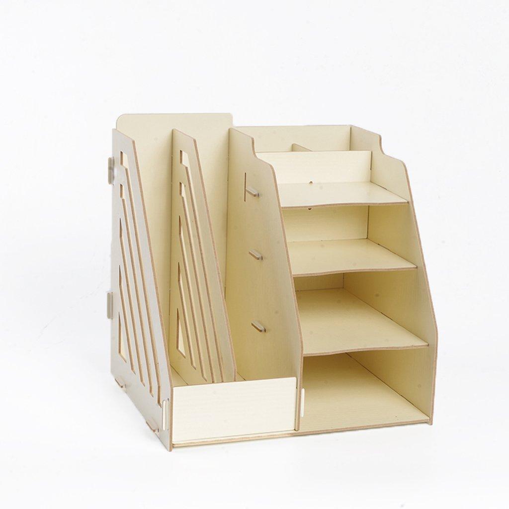 Amazon.com: Organizador multifuncional de madera para ...