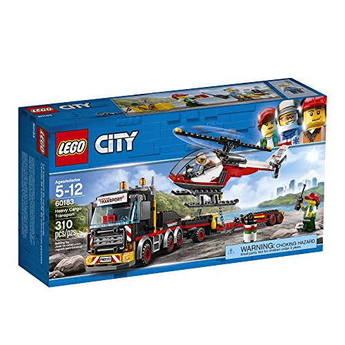 LEGO-City-Great-Vehicles-Heavy-Cargo-Transport-60183-Building-Kit-310-Piece