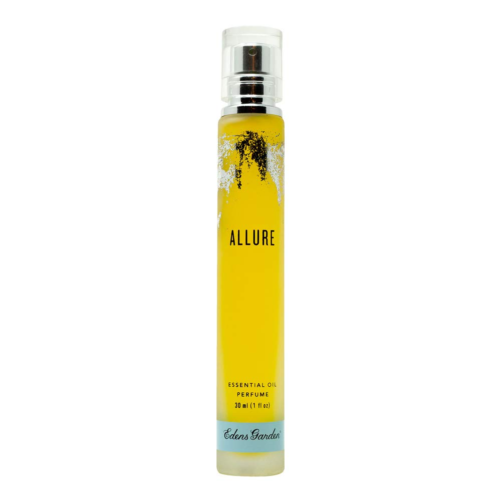 Edens Garden Allure Natural Essential Oil Perfume (Warm & Powdery Aroma), 1 oz