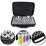 60 Slot Diamond Painting Storage Case Tool Diamond Painting Beads Organizer Accessories 60 Grids Shockproof and Durable Storage Box for Handicraft High Capacity Black