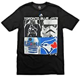 Toronto Blue Jays MLB Big Boys Youth Star Wars Main Character T-Shirt, Black